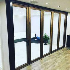 You won't find a more innovative door on the market! #panoramicdoors #foldingdoors #UK #UPVC #aluminum #vinyl #doors #interiors #exteriors #patiodoors #construction #remodel #homeimprovements #rennovations #curbappeal #luxuryliving #doorsofinstagram
