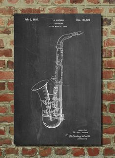Conn A Melody Saxophone Poster, Jazz Print, Music Art, Band Director, Vintage Music Storm Thorgerson, Paper Hearts, Corporate Branding, Vintage Music, Vintage Art, Vintage Style, Fashion Vintage, Peace Poster, Band Director