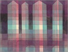 Paul Klee - Four towers