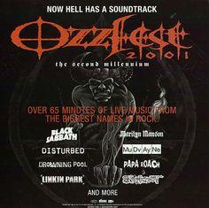 Ozzfest 2001 great concert