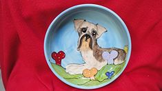 Scottish Terrier 8 Dog Bowl for Food or Water Personalized at no Charge Signed by Artist Debby Carman * Read more details by clicking on the image. Scottish Terrier, Dog Care, Training Tips, Dog Bowls, Image Link, Advice, Explore, Amazon, Water