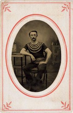 Occupation. Performer, William Andrew Bigelow, ca.1870 via the International Center of Photography