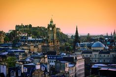 """""""I always feel that when I come to Edinburgh in many ways I am coming home."""" - Alan Rickman  by global_mimi"""
