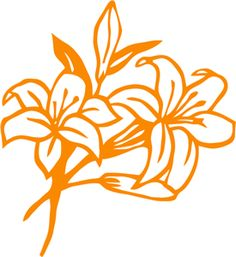 Welcome to the Silhouette Design Store, your source for craft machine cut files, fonts, SVGs, and other digital content for use with the Silhouette CAMEO® and other electronic cutting machines. Lilly Flower, Flower Svg, Flower Clipart, Stencil Patterns, Stencil Art, Stencil Designs, Flower Silhouette, Silhouette Design, Sunflower Stencil