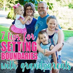 7 Tips for Setting Boundaries with Grandparents » Daily Mom