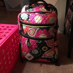 ❄️SALE!Tech Backpack in Ziggy Zinnia! NWT Brand new with tags! Beautiful Vera Bradley Tech Backpack in Ziggy Zinnia! So many pockets! Vera Bradley Bags Backpacks