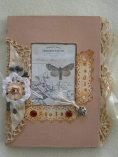 hand made vintage book