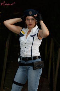 Jill Vallentine Resident Evil / Biohazard STARS Arrange cosplay I by Rejiclad