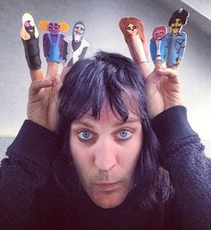 Luxury comedy finger puppets