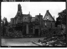Senlis, une maison entièrement brûlée : [photographie de presse] / Agence Meurisse | Gallica