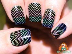BM-201 Nail Stamping, Nails, Beauty, Finger Nails, Ongles, Beauty Illustration, Nail, Nail Manicure