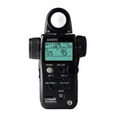 Sekonic Light Meter: L-758DR DigitalMaster Exposure Meter - Overview