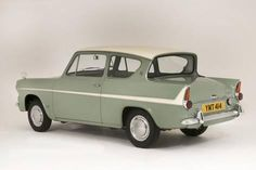Photographic Print: 1966 Ford Anglia Super 105E : 12x8in Ford Jokes, Ford Anglia, 1960s Cars, Ford Classic Cars, Shelby Gt500, Classic Motors, Car Ford, Vintage Japanese, Ford Vehicles