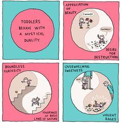INCIDENTAL COMICS: Life with a Toddler