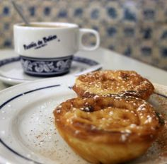 Pasteis de Belem - most famous bakery in Lisbon