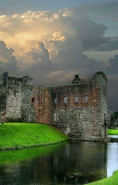 "Rothesay Castle ~ 13th century castle said to be "" one of the most remarkable…"