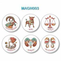 Magnesy Znaki Zodiaku nr 3