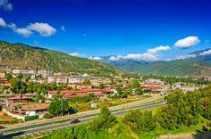 View of Thimphu, Thimpu City, Capital of Bhutan by Srijan Roy Choudhury on 500px