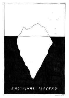 emotional iceberg