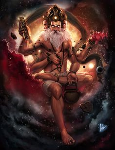 25 Recreations Of Hindu Gods That Will Blow Your Mind