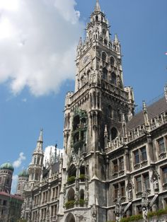 Munich, Germany - the clock tower