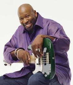 "Wayman Tisdale (1964 – 2009) American professional NBA basketball player and a Smooth Jazz Bass Guitarist. A three-time All American at the University of Oklahoma, he was elected to the National Collegiate Basketball Hall of Fame in 2009. He met his wife Regina in 1981 at church. Tisdale called music his ""first love"". Throughout his youth, and continuing through his college basketball career, he played bass guitar at his father's church. tk"