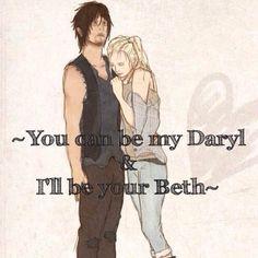 Beth & Daryl (Bethyl or Deth) --No Hate - - - - - - - - - - Part ...
