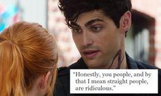 #AlecLightwood #Sarcasm #GaySass #Shadowhunters #MattDaddario