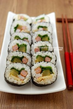 韓式紫菜包飯(壽司)김밥 | 小小米桶