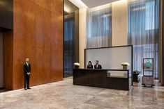 A handpicked team of experienced professionals services 432 Park Avenue& luxury NYC condominium and square feet of completed amenities. 432 Park Avenue, Manhattan Penthouse, Hotel Lobby, Pent House, House Prices, Condominium, Entrance, Luxury, Architecture