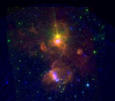 Space in Images - 2014 - 03 - Star-forming region ON2