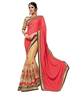 Shoppingover Indian Ethnic Saree with Blouse in Chiffon &... https://www.amazon.com/dp/B01LWYWXQV/ref=cm_sw_r_pi_dp_x_HXG.xb04WZJDX