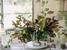 Organic, natural arrangement.