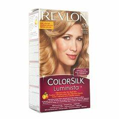 Revlon ColorSilk Luminista Vibrant Color for Dark Hair, Honey Blonde (176)- 20 fl oz$3