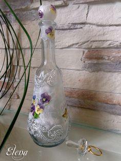 decoupage Glass -                      Декупаж стекла