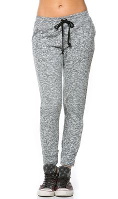 d900f61804d Comfy Drawstring Jogger Pants in Gray (Plus Sizes Available) Jogger Pants