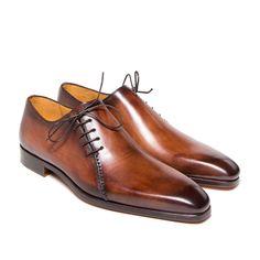 Richelieu à laçage de coté - Oxford Shoe with side lacing - Altan Bottier - La boutique - 1