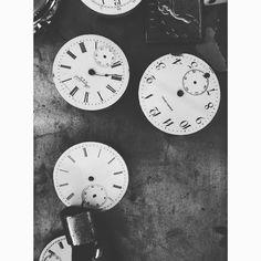 #industrycity #sunsetpark #blackandwhite #rustic #kphotos #clocks by gallery.kristie