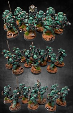 Sons of Horus Pre Heresy Tactical Squad