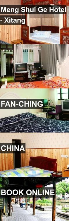 Meng Shui Ge Hotel - Xitang in Fan-ching, China. For more information, photos, reviews and best prices please follow the link. #China #Fan-ching #travel #vacation #hotel