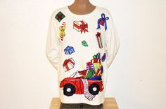 Check out this item in my Etsy shop https://www.etsy.com/listing/257257840/vintage-uglytacky-christmas-long-sleeve