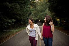 Kelsey Michelle | Photography. Lummi Island, Washington Senior Shoot. On the Road Senior. Bellingham Senior.  Senior Girl Poses. Best Friends Senior Shoot. Friends Senior Shoot. Girlfriends BFF Photoshoot.