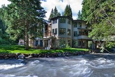 Listing # 126792 - Price: $19,950,000  Private & secluded country estate on the banks of idyllic Castle Creek. Unique bridge entry, manicured grounds, stately & soaring drama and the ambiance of a time gone byâEUR¦ All just 2.6 miles to the round-about. Log cabin & a two bedroom plus loft guest house, are just a few additional amenities of this rare creek front residence. Could not be reproduced in this creek-side location.