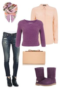 Untitled #78 by mias-fashion101 on Polyvore featuring polyvore, fashion, style, Jaeger, Miss Selfridge, Salvatore Ferragamo, rag & bone/JEAN, UGG Australia, See by Chloé, women's clothing, women's fashion, women, female, woman, misses and juniors