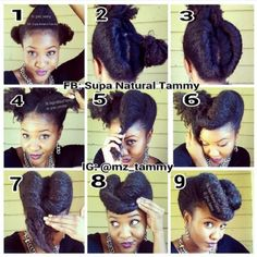 SOO CUTE! I did this with my relaxed hair before my big chop...perhaps if I grow my hair out again I can do this style again