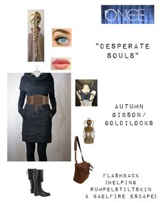 """""""OUAT - S1E8: """"Desperate Souls"""" - Autumn Gibson/Goldilocks"""" by nerdbucket ❤ liked on Polyvore featuring Blue Nile, Jas M.B. and Wet Seal"""