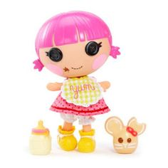 Lalaloopsy Littles™ Doll- Sprinkle Spice Cookie™  It's the little sister to Crumbs Sugar Cookie™! Isn't she ADORABLE?! My baby girl is getting one for her bday! :) She's going to be so excited!!