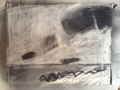 Charcoal on Paper Charcoal, Clouds, Sea, Drawings, Paper, Artwork, Painting, Work Of Art, Auguste Rodin Artwork