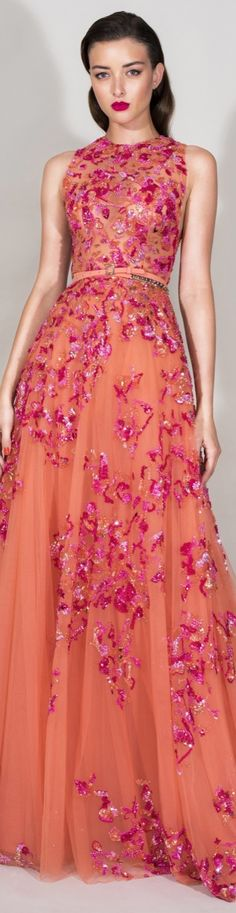 Zuhair Murad Resort 2016 Fashion Show Couture Mode, Style Couture, Couture Fashion, Fashion Show, Fashion Design, Party Fashion, Women's Fashion, Beautiful Gowns, Beautiful Outfits