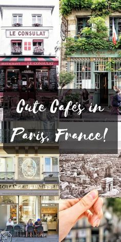 cute cafes in paris